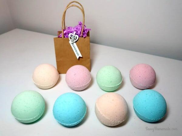 My Best DIY Bath Bomb Recipe #DIY #craft #bathroom