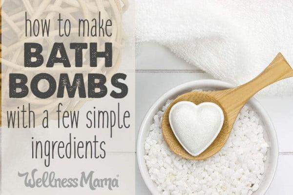 How to Make Lush Homemade Bath Bombs (Easy Recipe) #DIY #craft #bathroom