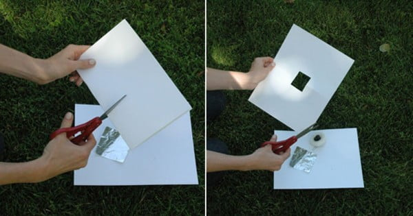 A DIY Eclipse Viewer! #DIY #eclipse #glasses