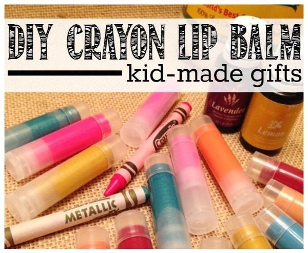 DIY Crayon Lip Balm #DIY #crafts #lipbalm