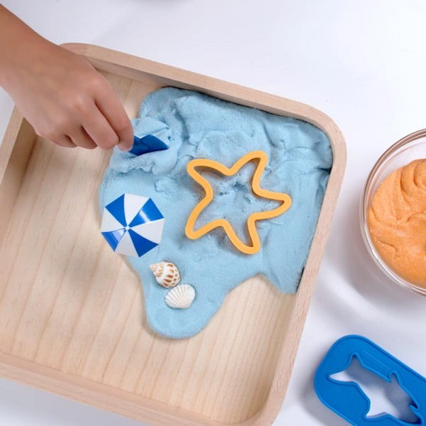 DIY Scented Kinetic Sand Slime #DIY #craft #toys