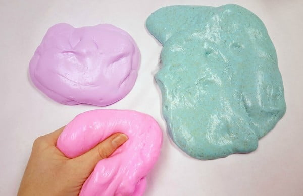 How to Make Slime – A Safer Recipe for Kids #DIY #craft #toys