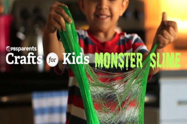 DIY Monster Slime #DIY #craft #toys
