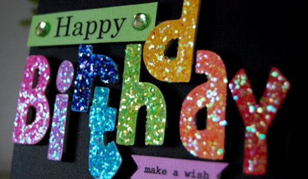 Pretty and Personalized: Fabulous Homemade Birthday Card Ideas #DIY #crafts #birthday