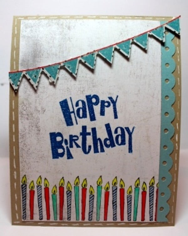 How to Make a DIY Birthday Card #DIY #crafts #birthday
