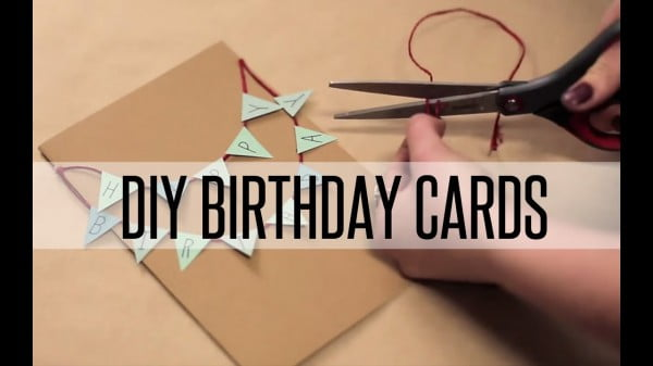 DIY BIRTHDAY CARDS #DIY #crafts #birthday