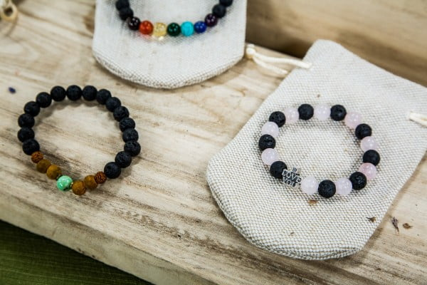 DIY Aromatherapy Bracelet #DIY #crafts #jewelry