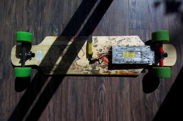 DIY a Fast Electric Skateboard with Budget #DIY #crafts #toys