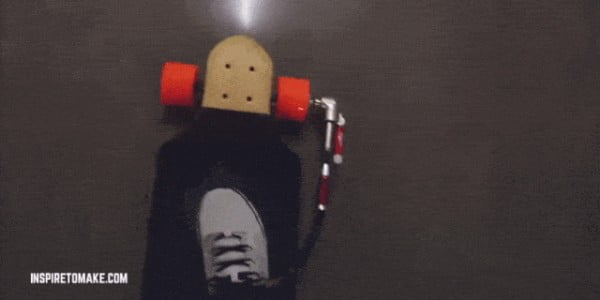 How To Build a Clever DIY Electric Skateboard #DIY #crafts #toys