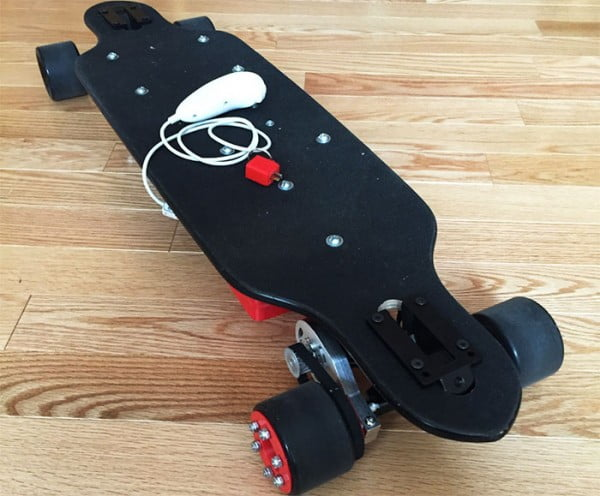 Arduino-Based DIY Electric Skateboard #DIY #crafts #toys