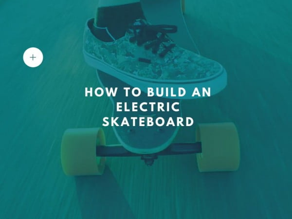 How to build an electric skateboard #DIY #crafts #toys