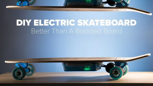 DIY Electric Skateboard Build #DIY #crafts #toys