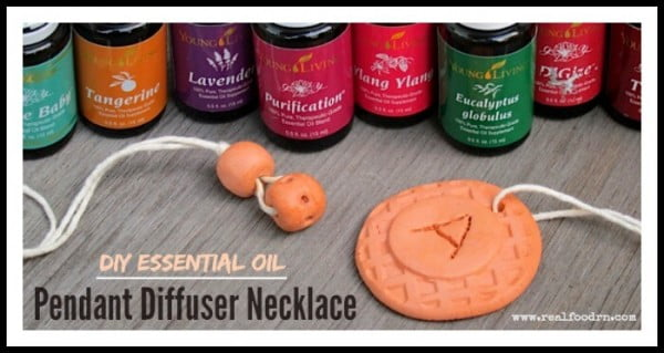 DIY Essential Oil Pendant Diffuser Necklace #DIY #crafts #jewelry #necklace