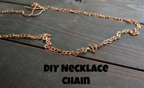 DIY Easy Necklace Jewelry Chain #DIY #crafts #jewelry #necklace