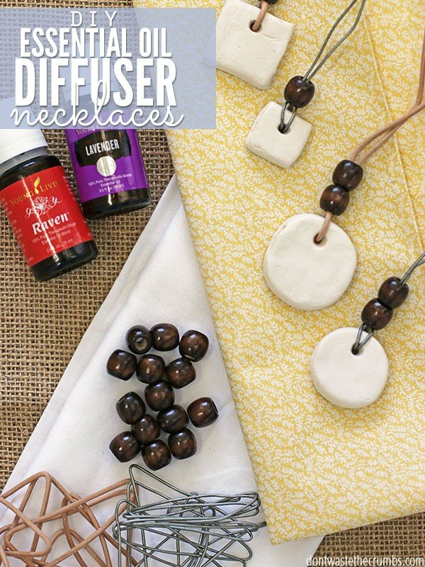 DIY Essential Oil Diffuser Necklace #DIY #crafts #jewelry #necklace