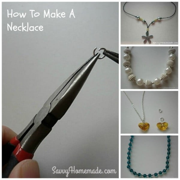 How To Make A Homemade Necklace That's Truly Original #DIY #crafts #jewelry #necklace