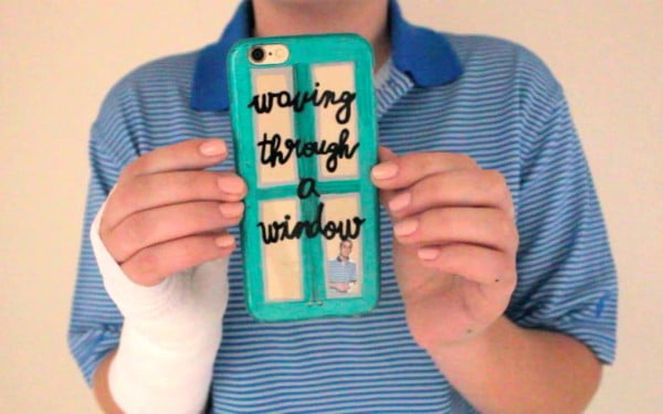 'Dear Evan Hansen' DIY Phone Case To Indulge The Crafty Theatre Nerd #DIY #craft