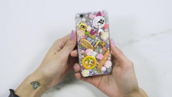 DIY personalized bling phone case #DIY #craft
