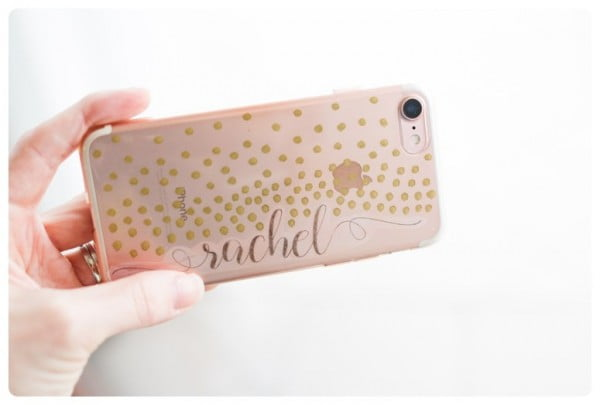 DIY Easy & Super-Cute Phone Case! #DIY #craft