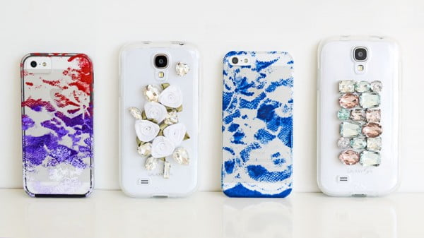 DIY phone cases and party! #DIY #craft