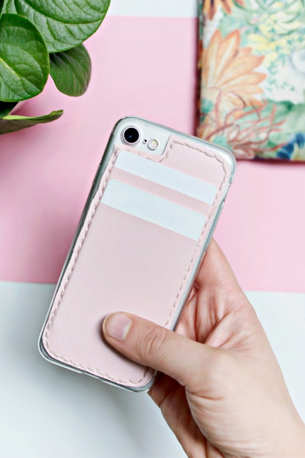 Card Holder Phone Case #DIY #craft