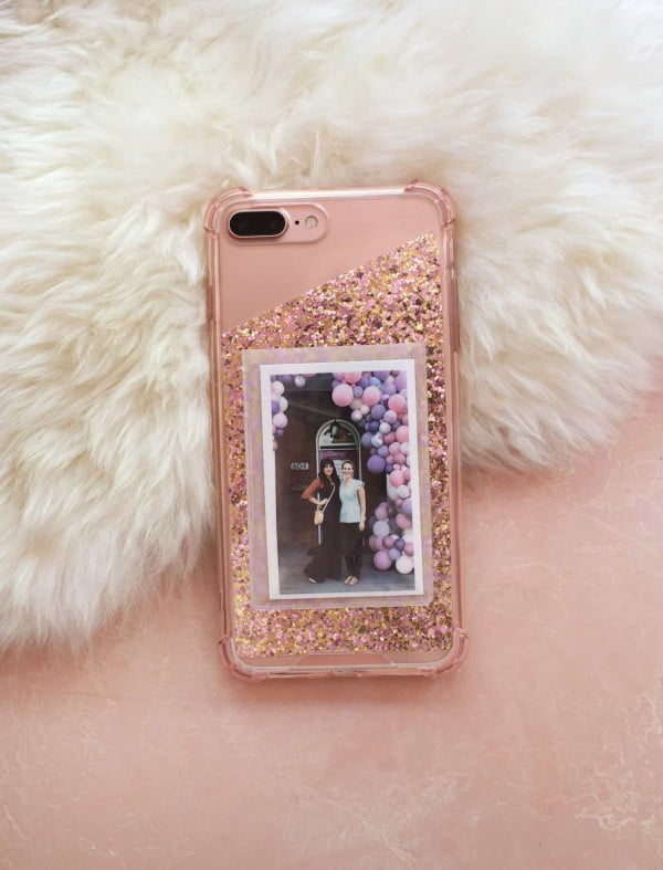 DIY Photo Cell Phone Case #DIY #craft