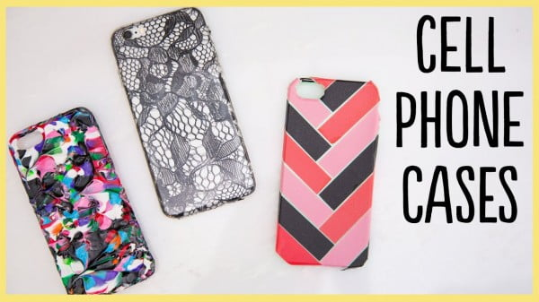 Cell Phone Cases (Cute and Easy!!) #DIY #craft