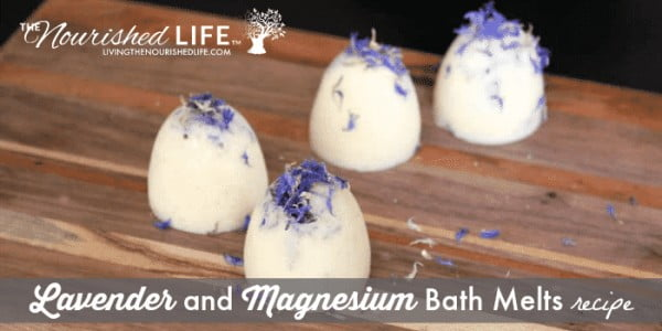 Lavender and Magnesium Bath Melts (and How to Promote a Restful Sleep) #DIY #crafts #beauty #bathroom