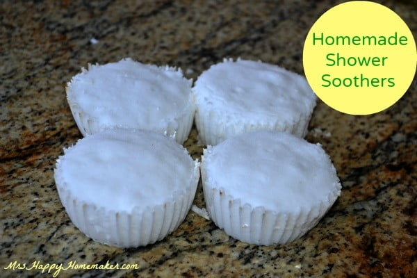 Homemade Shower Soothers #DIY #crafts #beauty #bathroom