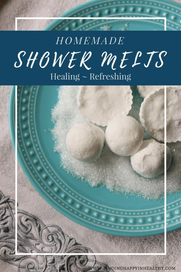 How To Make Healing Homemade Shower Melts #DIY #crafts #beauty #bathroom