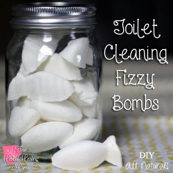 DIY – Toilet Cleaning Fizzy Bombs #DIY #bathroom #cleaning #fizzies #toiletbombs #crafts