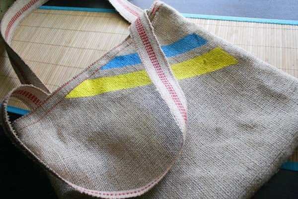 DIY Tote Bag #DIY #craft #totebag