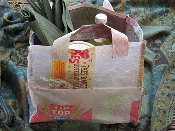 DIY project: Make your own fused-plastic tote bag #DIY #craft #totebag
