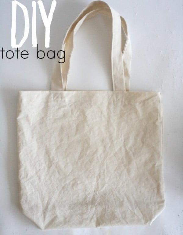 DIY tote bag — megan nielsen design diary #DIY #craft #totebag