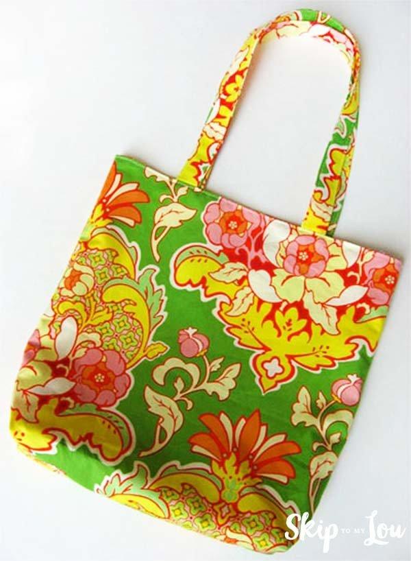 How to make a tote bag #DIY #craft #totebag
