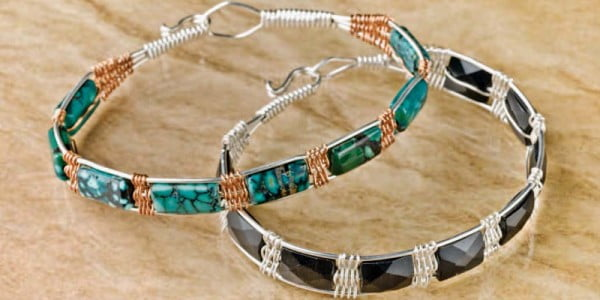 How to Make Wire Jewelry Like a Pro: Free Projects #DIY #crafts #jewelry