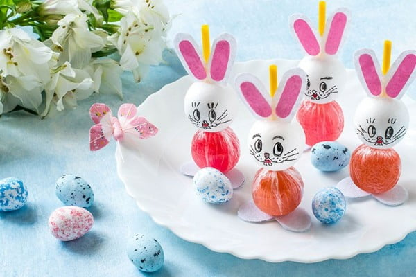 DIY Easy Easter Lollipop Craft Tutorial [Even Kids Can Make These!] #Easter #DIY #crafts