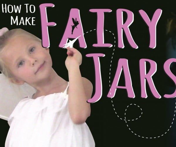 How to Make a Fairy Jar Without Glow Sticks #DIY #craft #fairyjar #masonjar #homedecor