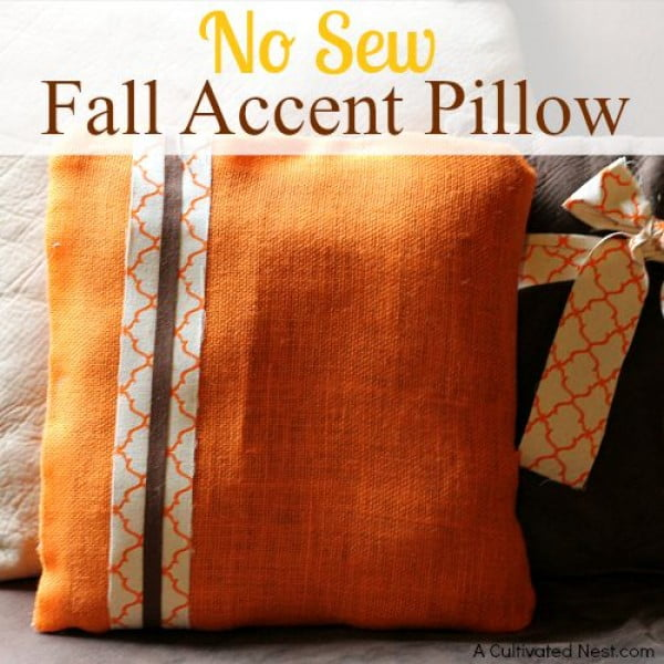 #nosew #DIY #craft #homemade #pillow