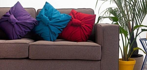 DIY No-Sew Pillows #nosew #DIY #craft #homemade #pillow