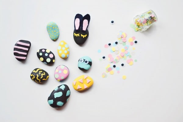DIY Pet Rocks #DIY #craft #toys #petrock