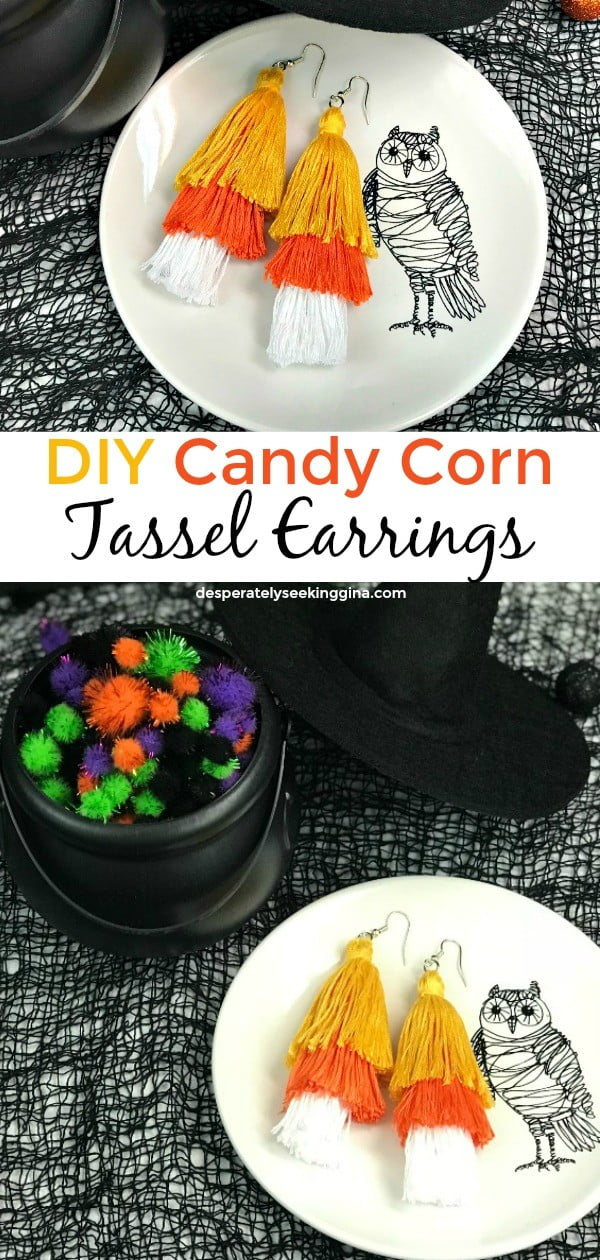 #DIY #jewelry #earrings #crafts