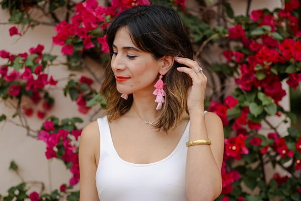 How to DIY Tassel Earrings #DIY #jewelry #earrings #crafts
