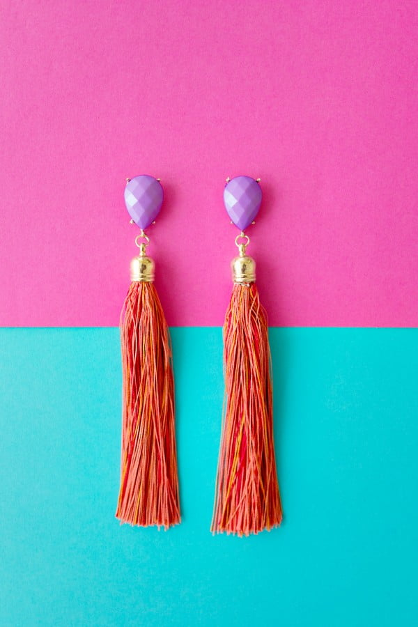 FEATURE #DIY #jewelry #earrings #crafts
