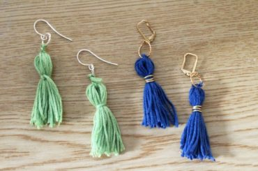 67 Stylish Easy Diy Tassel Earrings You Ll Be Proud To