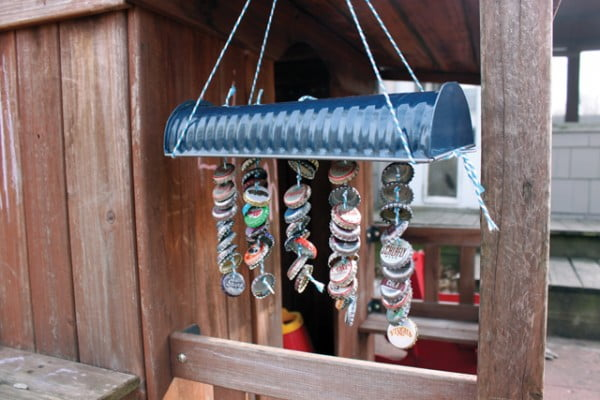 DIY: Wind Chimes #DIY #crafts #windchimes