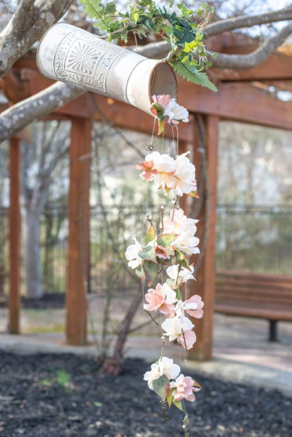 DIY Wind Chime made with Beacon Power-Tac #DIY #crafts #windchimes