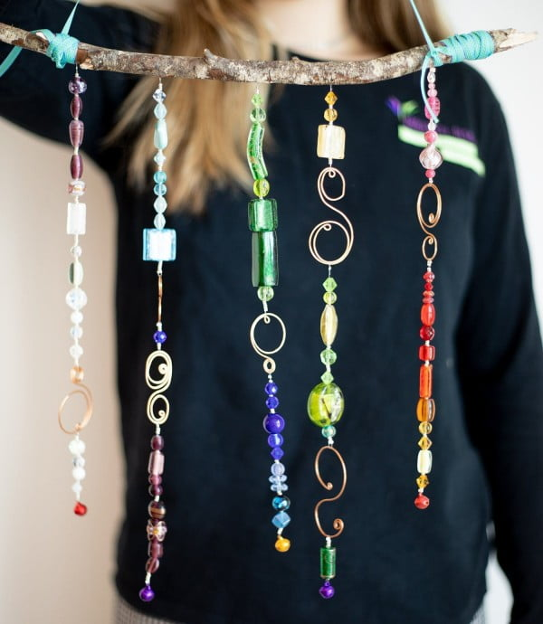 DIY Wind Chime #DIY #crafts #windchimes