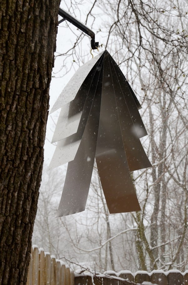 Modern DIY Wind Chime #DIY #crafts #windchimes