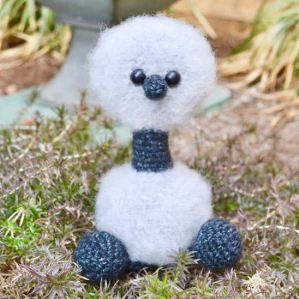 Emmet The Emu Crochet Pattern #crochet #crochetpattern #DIY #craft